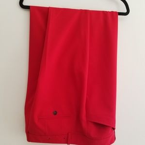 New Red Worthington Slacks